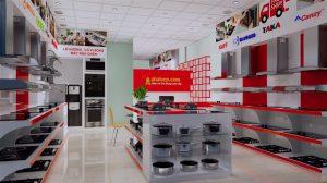 Booth quảng cáo được sử dụng với mục đích trưng bày sản phẩm